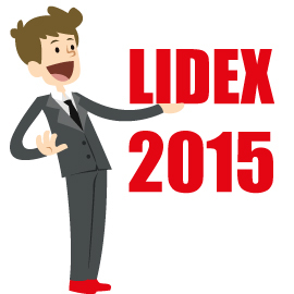 Lidex 2015 in Zahlen